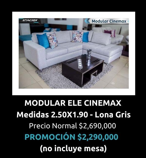 Oferta Muebles Modular Ele Cinemax